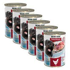New BEWI DOG konzerva – Drůbeží srdce 6 x 400 g
