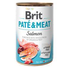 Konzerva Brit Paté & Meat Salmon, 400 g