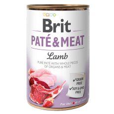 Konzerva Brit Paté & Meat Lamb, 400 g