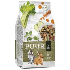 PUUR Rabbit – gurmánské müsli pro králíky 600 g