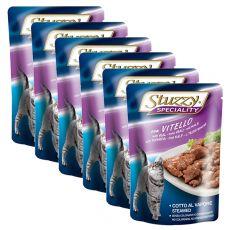 Stuzzy Speciality Cat – telecí, 6 x 100 g
