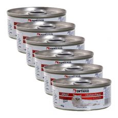ONTARIO Cat Chicken Pieces + Scallop 6 x 95 g