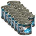 Konzerva pro kočky Leonardo - Ryba 12 x 200g