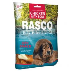RASCO PREMIUM kosti obalené kuřecím masem 80 g