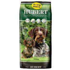 HUBERT krmivo pro lovecké psy 15 + 2 kg GRATIS