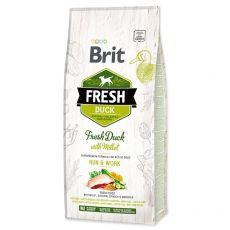 Brit Fresh Duck with Millet Adult Run & Work 12 kg