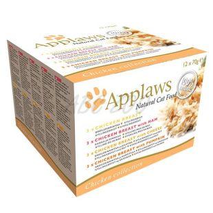 Konzerva Applaws Cat Chicken Selection 12 x 70 g