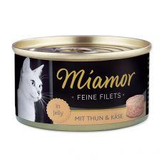 Konzerva Miamor Filet tuňák a sýr 100 g