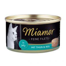 Konzerva Miamor Filet tuňák a rýře 100 g