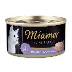 Konzerva Miamor Filet tuňák a kalmar 100 g