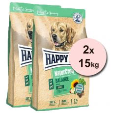 Happy Dog Naturcroq Balance 2 x 15 kg