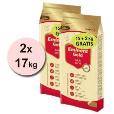EMINENT GOLD Adult 2 x 15 kg + 4 kg GRATIS