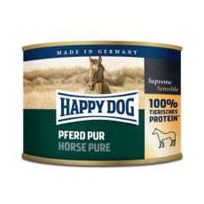 Happy Dog Pur – Pferd 200 g/kůň