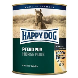 Happy Dog Pur – Pferd 800 g/kůň