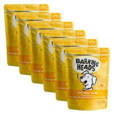 BARKING HEADS Fat Dog Slim GRAIN FREE 6 x 300 g