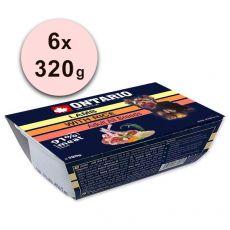 ONTARIO vanička Lamb with Rice – 6 x 320 g