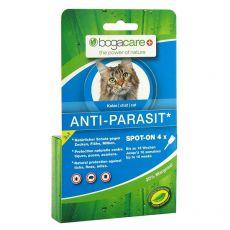 Antiparazitní kapky BOGACARE Anti Parasit Spot-On CAT, 4 ks