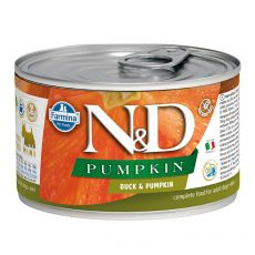 Farmina N&D dog Duck & Pumpkin konzerva 140 g