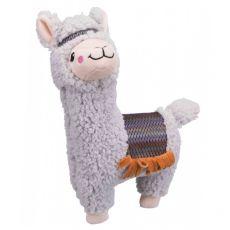Plyšová hračka pro psa – alpaka, 31 cm