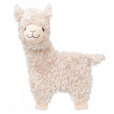 Plyšová hračka pro psa – šuštící lama, 40 cm