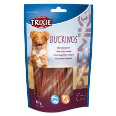 Trixie Premio DUCKINOS kachní proužky 80 g