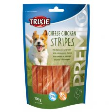Trixie PREMIO Cheese Chicken Stripes, kuře a sýr 100 g