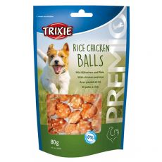 Trixie PREMIO Rice Chicken Balls, kuře a rýže 80 g