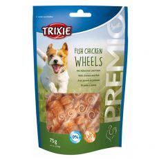 Trixie PREMIO Fish Chicken Wheels, kuře a ryba 75 g