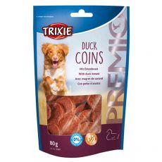 Trixie PREMIO Duck Coins, kachní kolečka 80 g