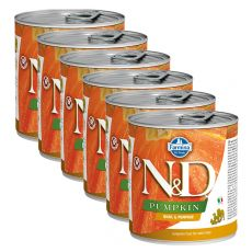 Farmina N&D dog Quail & Pumpkin konzerva 6 x 285 g