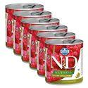 Farmina N&D dog Quinoa Duck & Coconut 6 x 285 g, 5+1 GRATIS