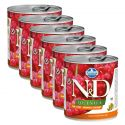 Farmina N&D dog Quinoa Herring & Coconut 6 x 285 g, 5+1 GRATIS