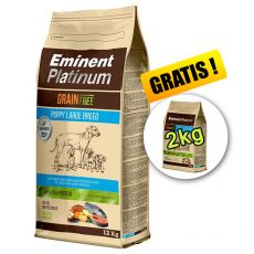 EMINENT Platinum Puppy Large Breed 12 kg + 2 kg GRATIS