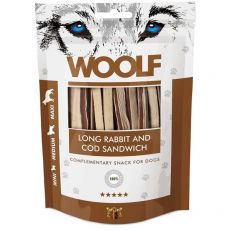WOOLF Long Rabbit and Cod Sandwich 100 g
