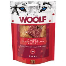 WOOLF Hearts of Duck or Chicken with Rice 100 g