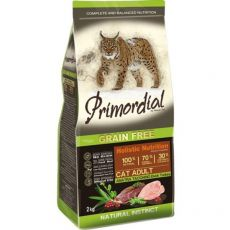 Primordial GF Cat Adult Duck & Turkey 2 kg