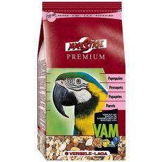 Parrots Premium 1kg - krmivo pro velké papoušky