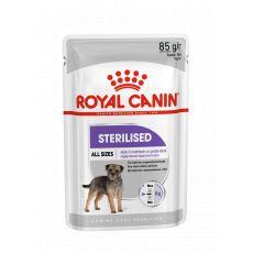 Royal Canin Sterilised Dog Loaf kapsička s paštikou pro kastrované psy 85 g