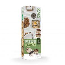 PUUR PAUZE sticks Nuts – tyčinky s ořechy pro hlodavce 2 ks