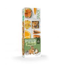 PUUR PAUZE sticks Exotic Friut – tyčinky s exotickým ovocem pro hlodavce 2 ks