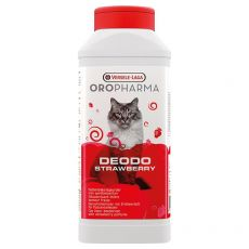 Deodo Strawberry – deodorant do kočičí toalety 750 g
