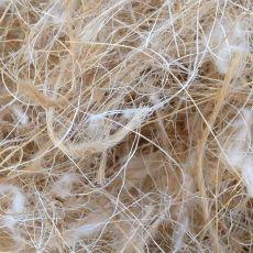 Materiál pro stavbu hnízda - srst, konopí, sisal 0,5 kg