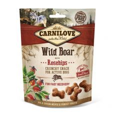 Carnilove Dog Crunchy Snack Wild Boar with Rosehips with fresh meat 200 g