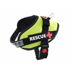 Postroj pro psy Rescue S 45–55 cm, zelený
