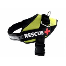 Postroj pro psy Rescue M 55–65 cm, zelený