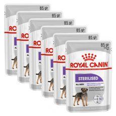 Royal Canin Sterilised Dog Loaf kapsička s paštikou pro kastrované psy 6 x 85 g