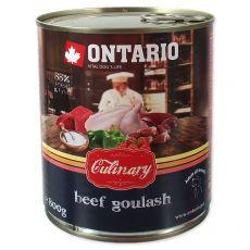 Konzerva ONTARIO Culinary Beef Goulash 800 g