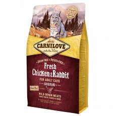 Brit CARNILOVE Fresh Chicken & Rabbit Adult Cat 2 kg