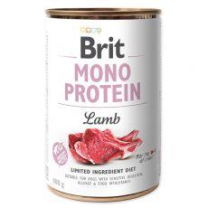 Konzerva Brit Mono Protein Lamb, 400 g