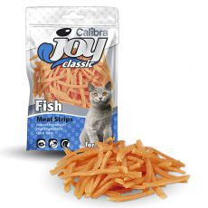 Pamlsky Calibra Joy Cat Classic Fish Strips 70 g